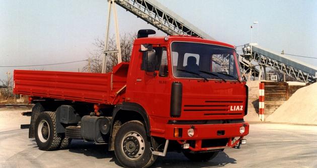 Sklápěč Škoda LIAZ 18.33 SB (řada 300) zexportní nabídky 1997