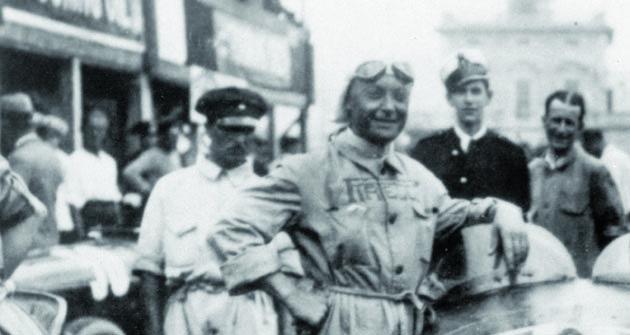 Baconin Borzacchini  měl jméno inspirované ruským anarchistou, leč ktakovému politickému směru měl daleko, vživotě inazávodní dráze.