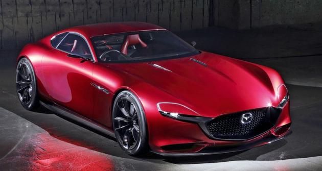 Mazda RX-Vision  slavila světovou premiéru naTokyo Motor Show 2015