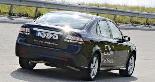 Elektrický prototyp Saab 9-3 EV už jezdí...