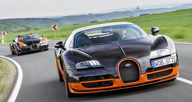 Rekordní Bugatti Veyron 16.4 naNürburgringu