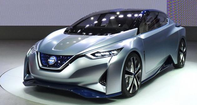 Nissan IDS Concept, vize elektromobilu pro autonomní jízdu