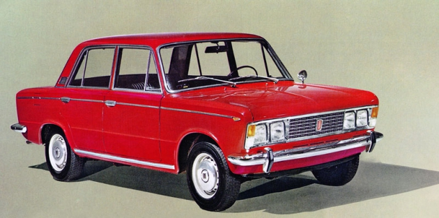 Fiat 125 vplné kráse, jak byl urychleně uveden natrh vroce 1967...