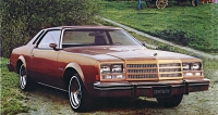 Buick Century Custom Coupe model 1976