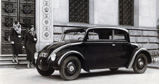 Škoda 932  se vzduchem chlazeným plochým čtyřválcem 1,5 litru vzádi (1932)