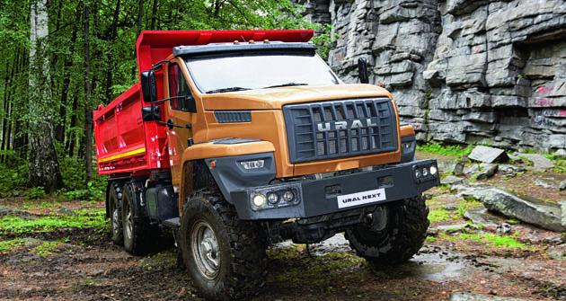 URAL NEXT je modelová řada těžkých nákladních vozidel patřící rovněž donabídky skupiny GAZ.