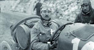 Vevoze Ballot 2LS  nazávodě Targa  Florio 1922.
