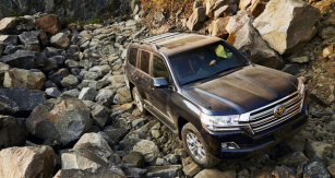 Toyota Land Cruiser model 2016