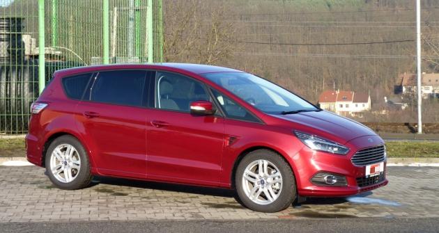 test: ford s-max zůstává nejlépe jezdícím mpv! | automobil revue