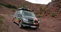 VW Transporter T6 týmu BARTH Racing na trase Dakaru 2016