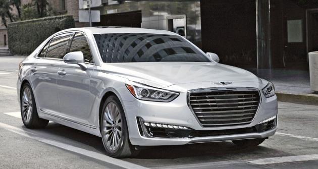 Sluxusním sedanem Genesis G90 chce Hyundai zopakovat úspěch, jakého dosáhla Toyota svozy Lexus