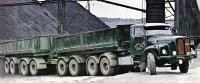 Scania-Vabis LT76 Super, nejsilnější typ programu 1966, spohonem obou zadních náprav