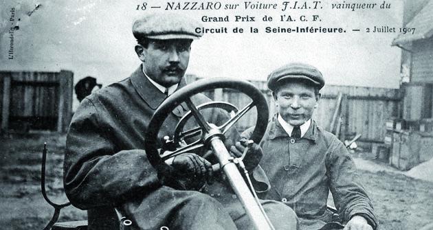 Vroce 1907 vyhrál Felice Nazzaro hned tři největší závody sezony – stal se závodní hvězdou první velikosti.