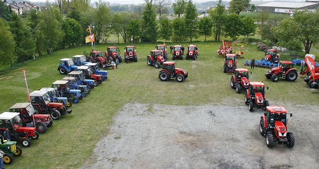 Přehlídka traktorů Zetor