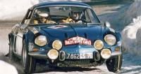 Berlinetty Alpine-Renault  A110 1600S obsadily tři první místa vRally Monte Carlo 1971  (Ove Andersson  před Thérierem aAndruetem,  třetím ex-aequo sWaldegaardem naVW-Porsche 914/6)