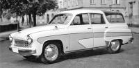 Wartburg 311 Camping-Limousine, pětidveřové kombi sprosklenou střechou