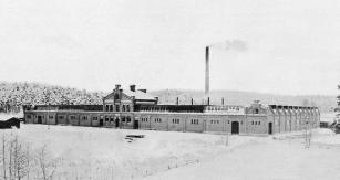Továrna Scania vroce 1895