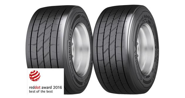 Návěsové pneumatiky Conti Hybrid HT3 445/45 R 19.5 a 435/50 R 19.5 přesvědčují maximální kvalitou designu a revoluční konstrukcí
