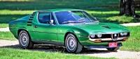 Sériový model se dal koupit s pěti metalickými odstíny včetně zelené.