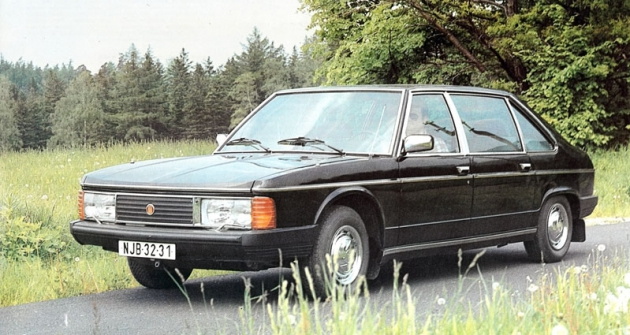 Tatra 613 Speciál na snímku z druhé poloviny osmdesátých let