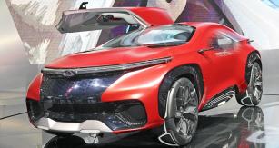 Chery FV2030 Concept je stylistickým cvičením na téma automobil budoucnosti, zároveň ale představuje několik zajímavých patentů