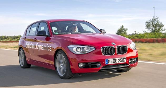 Zkušební prototyp na jedné z drah testovacího centra BMW v jihofrancouzském Miramas