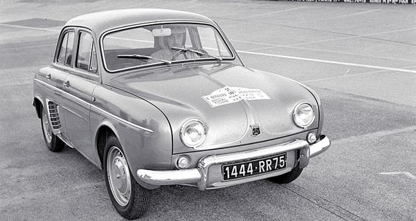 Renault Dauphine, čtyřválec OHV 845 cm3, 20kW (27 k)/4250 min-1 a 66 N.m/2500 min-1