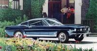 Legendární Mustang Fastback první generace, vyráběný od roku 1965