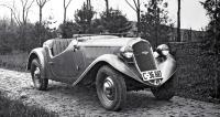 Roadster Popular 418 R s motorem 1,4 l z modelu Rapid v podobě zledna 1936