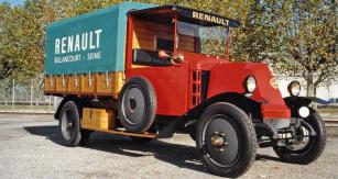 Renault model MY se čtyřválcem 3,2 litru (model 1924)