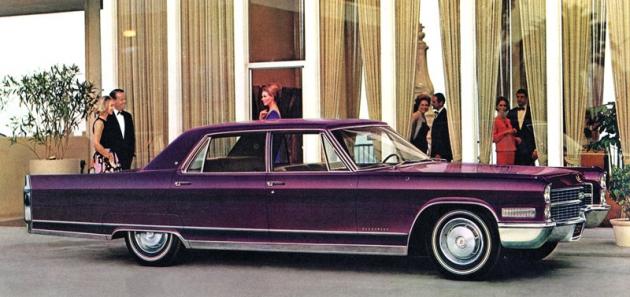 Cadillac Fleetwood Sixty Special Sedan, vrcholný produkt řady z nejlépe vybavené Fleetwood Series