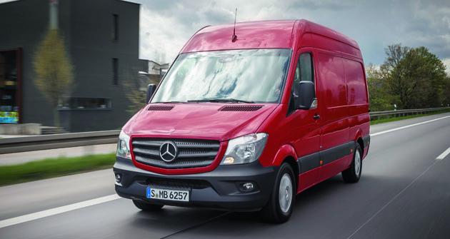 Mercedes-Benz Vans nyní vEvropě přechází nakompletní nabídku motorů plnících Euro 6.