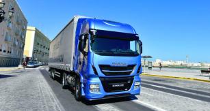 Stralis NP je  odpovědí koncernu Iveco na vzrůstající oblibu vozidel  smotory na plyn.