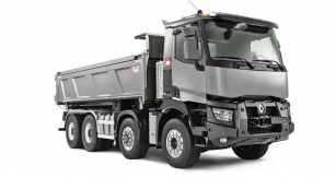 Nově je systém OptiTrack nabízen také u Renaultu Truck C 8x4