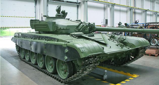 Jedním zprojektů TDV  je repase tanků T 72