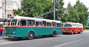 Škoda 6 Tr a autobus Škoda 706 RTO