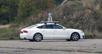 Testovací vůz Audi