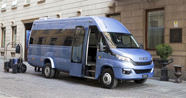 Minibus Daily je dodáván s novou konfigurací motorů