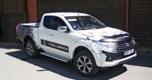 Fiat Fullback pick-up skaroserií Extended