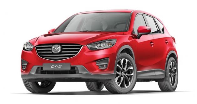 Mazda CX-5 byla prvním vozem plně využívajícím technologie Skyactiv