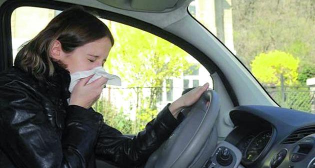 """Kýchnout zavolantem není  jen tak. Řidič je prakticky neustále  zodpovědný za""""všechno kolem sebe"""".  Sebemenší nepozornost ajste vmaléru."""