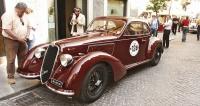 Alfa 6C2300B Mille Miglia (1937) – jeden ze tří vozů 2300 Berlinetta Coupé, které závodily v Mille Miglia 1937, z nichž jeden (tento) karosoval Touring. Závod dokončil na celkově 4. místě. Stejný vůz vlastnil iBenito Mussolini (MM 2005, San Marino)
