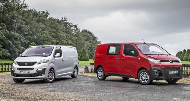 Peugeot Expert i Citroën Jumpy se již objevují i na českých silnicích