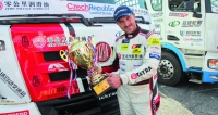 David Vršecký je jediný závodní jezdec na světě, který se může pochlubit kombinací mistrovských titulů zEvropy a Číny. Tatra je jedinou značkou na světě, na jejímž kontě je totéž!