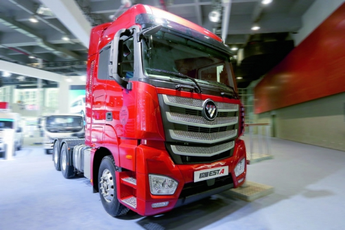 Chinese Truck of the Year 2017 – Auman EST.