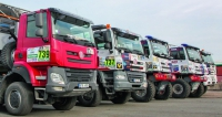 Doprovodná aostrá soutěžní vozidla Tatra Phoenix týmu Tatra Buggyra Racing pro Dakar 2017.
