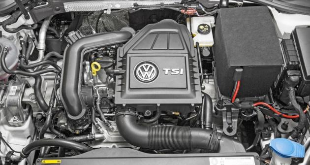 Bez sběrného výfukového potrubí s turbodmychadlem, kapalin apříslušenství váží motor 1.0 TSI jako náhradní díl pouze 63 kg. Tím přispívá k lepšímu rozložení hmotnosti mezi nápravy