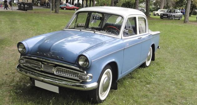 Hillman Minx III C se dovážel počátkem šedesátých let také do Československa