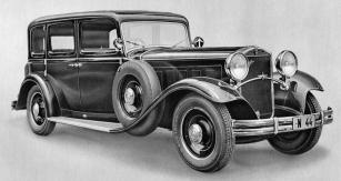 Sedmimístná limuzína Praga Grand ročníku 1931 s osmiválcem 4,4 l