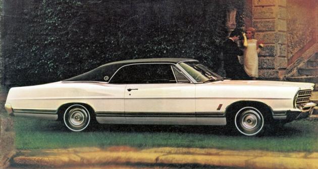 Ford LTD 2 Door Hardtop, automobil největší řady označené pouze jako Ford, kterou tvořily typy LTD, XL, Galaxie a Custom